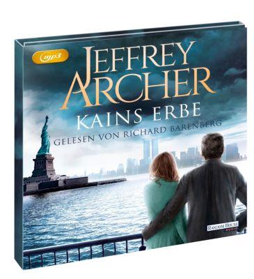 Kains Erbe, 2 MP3-CDs, Jeffrey Archer