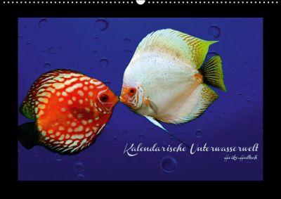 Kalendarische Unterwasserwelt (Wandkalender 2018 DIN A2 quer), Heike Hultsch