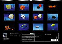 Kalendarische Unterwasserwelt (Wandkalender 2018 DIN A2 quer) - Produktdetailbild 13