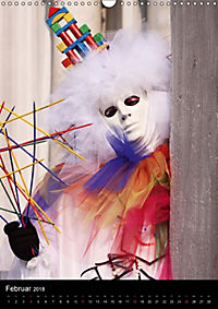 Karneval in Venedig - Phantasievolle Masken (Wandkalender 2018 DIN A3 hoch) - Produktdetailbild 2