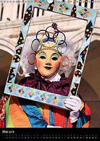 Karneval in Venedig - Phantasievolle Masken (Wandkalender 2018 DIN A3 hoch) - Produktdetailbild 5