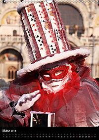 Karneval in Venedig - Phantasievolle Masken (Wandkalender 2018 DIN A3 hoch) - Produktdetailbild 3