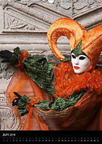 Karneval in Venedig - Phantasievolle Masken (Wandkalender 2018 DIN A3 hoch) - Produktdetailbild 6