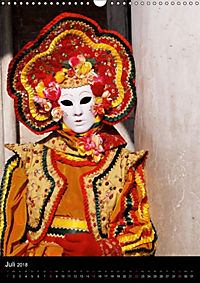 Karneval in Venedig - Phantasievolle Masken (Wandkalender 2018 DIN A3 hoch) - Produktdetailbild 7