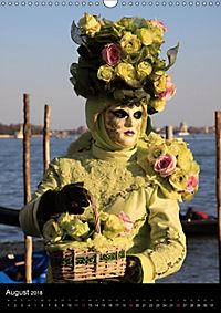 Karneval in Venedig - Phantasievolle Masken (Wandkalender 2018 DIN A3 hoch) - Produktdetailbild 8
