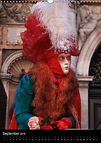 Karneval in Venedig - Phantasievolle Masken (Wandkalender 2018 DIN A3 hoch) - Produktdetailbild 9