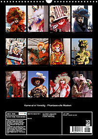 Karneval in Venedig - Phantasievolle Masken (Wandkalender 2018 DIN A3 hoch) - Produktdetailbild 13