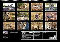 Katzen Afrikas (Wandkalender 2018 DIN A2 quer) Dieser erfolgreiche Kalender wurde dieses Jahr mit gleichen Bildern und a - Produktdetailbild 13