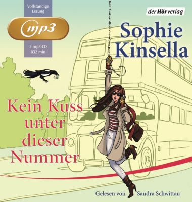 Kein Kuss unter dieser Nummer, 2 MP3-CDs, Sophie Kinsella