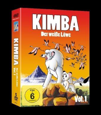 Kimba, Der Weiße Löwe Box 1