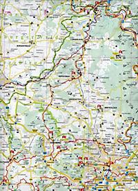 KKV Biker- und Tourismuskarte Nordhessen - Produktdetailbild 1