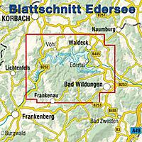 KKV Rad- und Wanderkarte Edersee - Produktdetailbild 1
