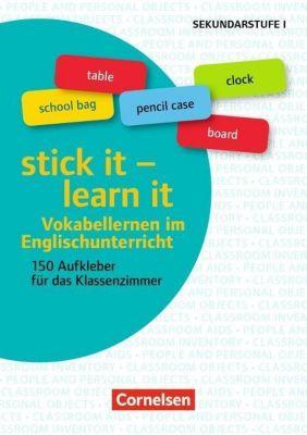 Klasse 5-10 - stick it - learn it - Vokabellernen im Englischunterricht