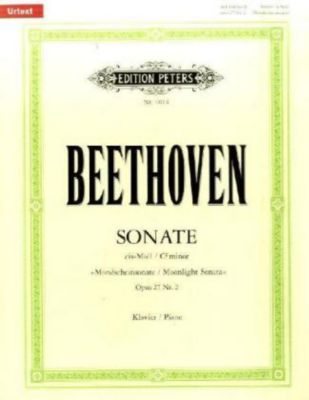 Klaviersonate cis-Moll op.27/2 (Mondschein-Sonate), Ludwig van Beethoven