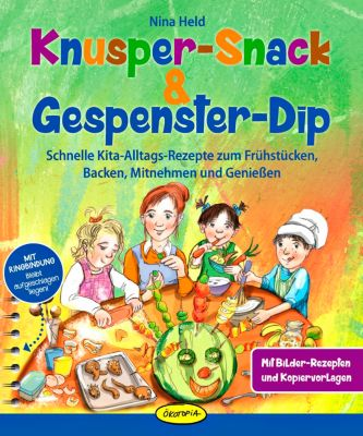 Knusper-Snack & Gespenster-Dip, Nina Held
