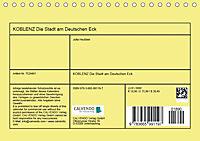 Koblenz Die Stadt am Deutschen Eck (Tischkalender 2018 DIN A5 quer) - Produktdetailbild 13