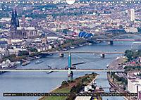 Köln - Die Rheinmetropole aus der Luft (Wandkalender 2018 DIN A4 quer) - Produktdetailbild 1