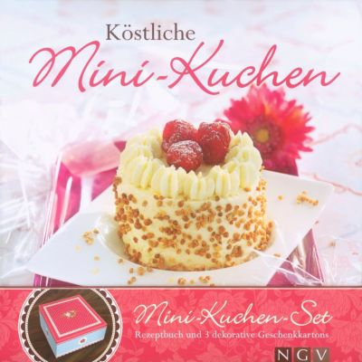 Köstliche Mini-Kuchen, m. 3 Geschenkkartons