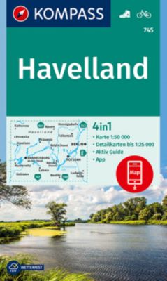 Kompass Karte Havelland
