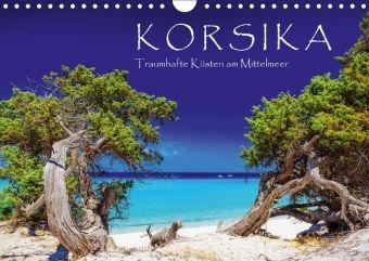 Korsika - Traumhafte Küsten am Mittelmeer (Wandkalender 2018 DIN A4 quer), Patrick Rosyk