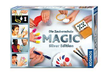 KOSMOS - MAGIC Die Zauberschule Silver Edition, Zauberkasten