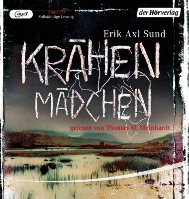 Krähenmädchen, 2 mp3-CDs, Erik Axl Sund