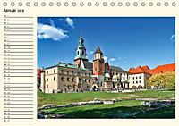 Krakau - das polnische Florenz (Tischkalender 2018 DIN A5 quer) Dieser erfolgreiche Kalender wurde dieses Jahr mit gleic - Produktdetailbild 1