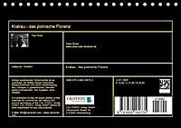 Krakau - das polnische Florenz (Tischkalender 2018 DIN A5 quer) Dieser erfolgreiche Kalender wurde dieses Jahr mit gleic - Produktdetailbild 13