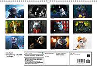 Kreaturen einzigARTig - skurrile Tierbilder (Wandkalender 2018 DIN A3 quer) - Produktdetailbild 13