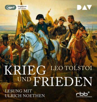 Krieg und Frieden, 6 MP3-CDs, Leo N. Tolstoi