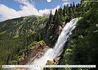 Krimmler Wasserfälle - Naturlandschaft Krimmler Achental (Wandkalender 2018 DIN A3 quer) Dieser erfolgreiche Kalender wu - Produktdetailbild 3