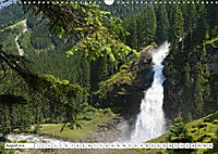 Krimmler Wasserfälle - Naturlandschaft Krimmler Achental (Wandkalender 2018 DIN A3 quer) Dieser erfolgreiche Kalender wu - Produktdetailbild 8
