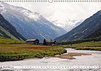 Krimmler Wasserfälle - Naturlandschaft Krimmler Achental (Wandkalender 2018 DIN A3 quer) Dieser erfolgreiche Kalender wu - Produktdetailbild 12