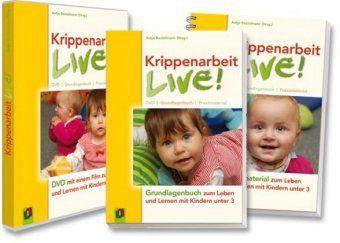 Krippenarbeit live!, m. DVD