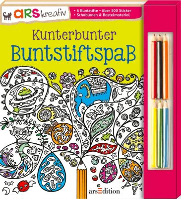 Kunterbunter Buntstiftspass