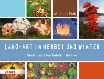 Land-Art in Herbst und Winter, Michael Fink
