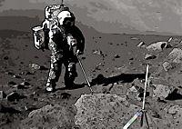 Landing On The Moon Like A Cartoon (Posterbuch DIN A2 quer) - Produktdetailbild 8