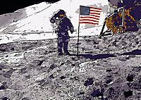 Landing On The Moon Like A Cartoon (Posterbuch DIN A2 quer) - Produktdetailbild 6