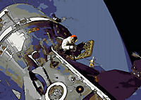 Landing On The Moon Like A Cartoon (Posterbuch DIN A3 quer) - Produktdetailbild 11