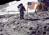 Landing On The Moon Like A Cartoon (Posterbuch DIN A3 quer) - Produktdetailbild 6