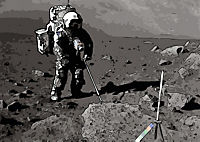 Landing On The Moon Like A Cartoon (Posterbuch DIN A3 quer) - Produktdetailbild 8