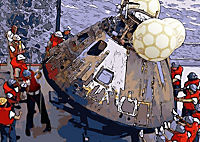Landing On The Moon Like A Cartoon (Posterbuch DIN A4 quer) - Produktdetailbild 12