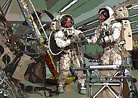 Landing On The Moon Like A Cartoon (Posterbuch DIN A4 quer) - Produktdetailbild 2