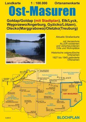 Landkarte Ost-Masuren, Dirk Bloch