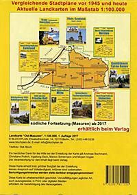 Landkarte Ost-Masuren - Produktdetailbild 1