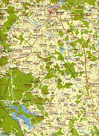 Landkarte Ost-Masuren - Produktdetailbild 2
