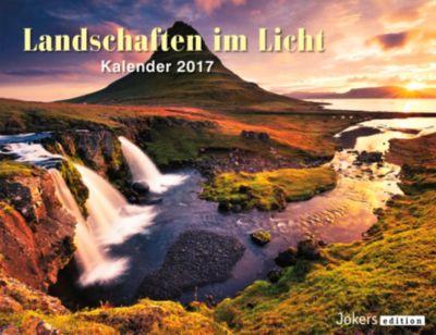 Landschaften im Licht 2017, Wandkalender