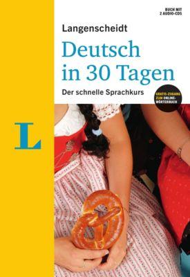 Langenscheidt Deutsch in 30 Tagen, m. 2 Audio-CDs, Christoph Obergfell