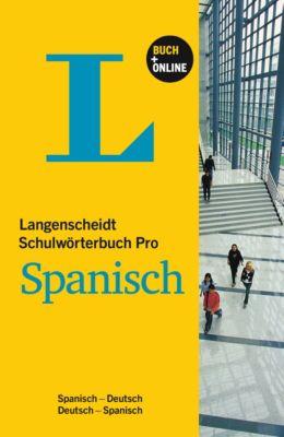 Langenscheidt Schulwörterbuch Pro Spanisch