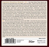 Legendary Broadway Musicals, 10 CDs - Produktdetailbild 1
